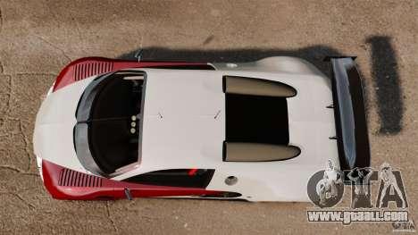 Bugatti Veyron 16.4 Body Kit Final Stock for GTA 4 right view