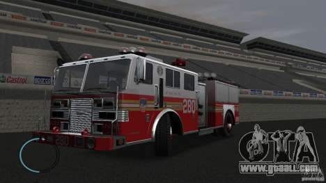 NEW Fire Truck for GTA 4