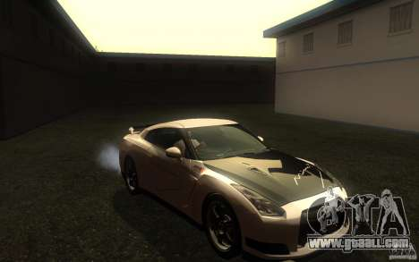 Nissan GTR R35 Spec-V 2010 for GTA San Andreas