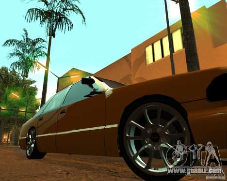 Azik Taxi for GTA San Andreas right view