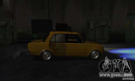 VAZ 2101 RAT LOOK for GTA San Andreas back left view