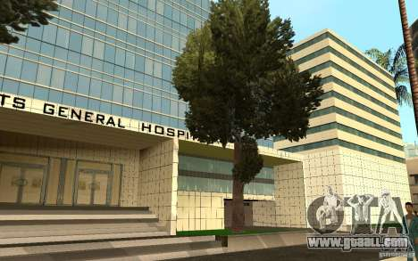 UGP Moscow New General Hospital for GTA San Andreas seventh screenshot