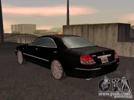 Nissan Cedric Y34 for GTA San Andreas back left view