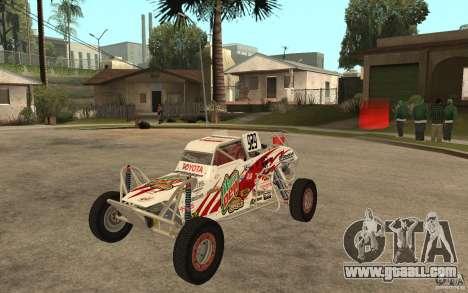 CORR Super Buggy 1 (Schwalbe) for GTA San Andreas