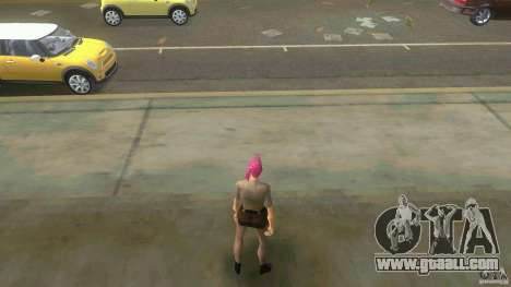 Girl Player mit 11skins for GTA Vice City tenth screenshot