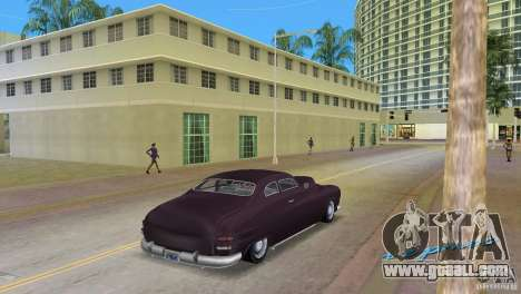 Hermes HD for GTA Vice City left view