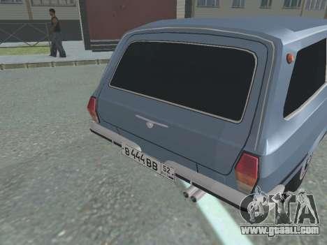 GAZ-24 Volga 12 for GTA San Andreas right view