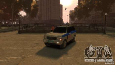 Land Rover Range Rover Police for GTA 4