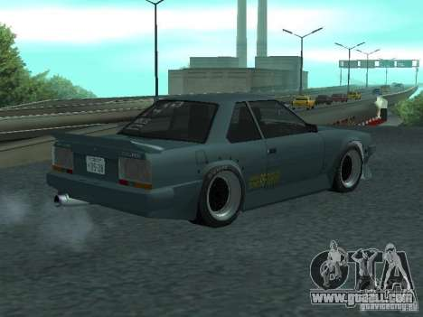 Nissan Skyline RS R30 for GTA San Andreas left view