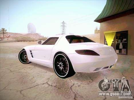 Mercedes-Benz SLS AMG 2010 Hamann Design for GTA San Andreas left view