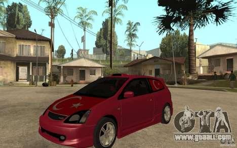 Honda Civic Type R for GTA San Andreas