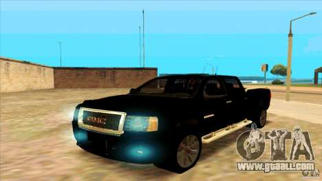 GMC Sierra 2011 for GTA San Andreas