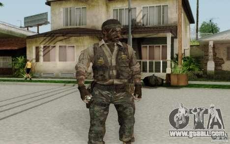 Frank Woods for GTA San Andreas second screenshot
