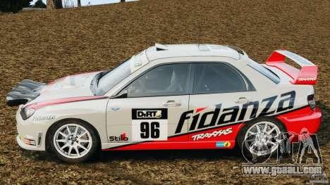 Subaru Impreza WRX STI N12 for GTA 4 left view
