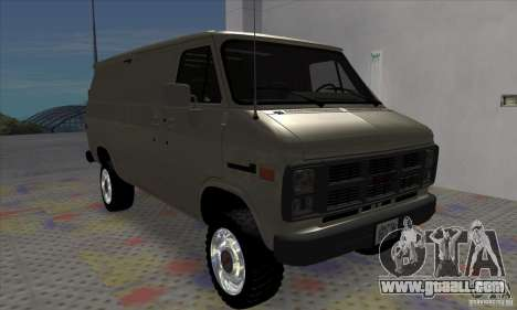 GMC Vandura G-1500 1983 for GTA San Andreas left view