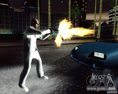 White costume for GTA San Andreas third screenshot