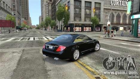 Mercedes-Benz CL65 AMG v1.5 for GTA 4 left view