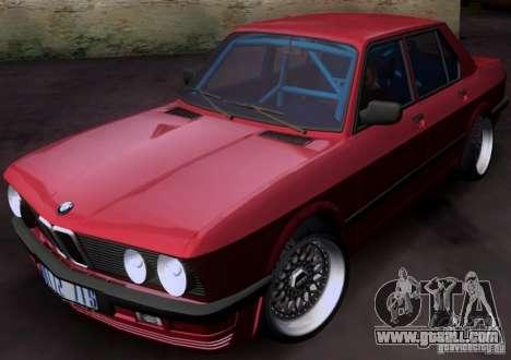 BMW 5-er E28 for GTA San Andreas