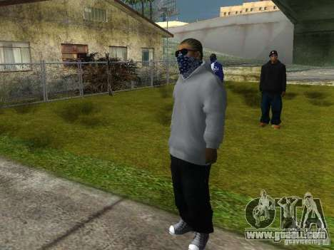 Crips for GTA San Andreas eighth screenshot