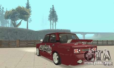 VAZ 2107 Ex Tuning for GTA San Andreas left view