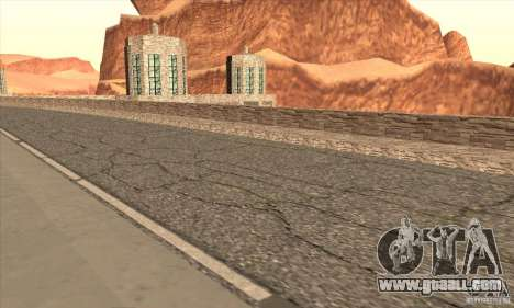 The new dam for GTA San Andreas seventh screenshot