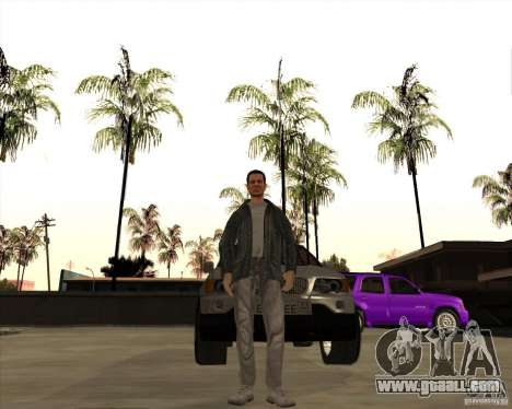 Skin is a member of the mafia for GTA San Andreas second screenshot