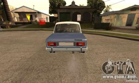 VAZ 2106 Old v2.0 for GTA San Andreas back view