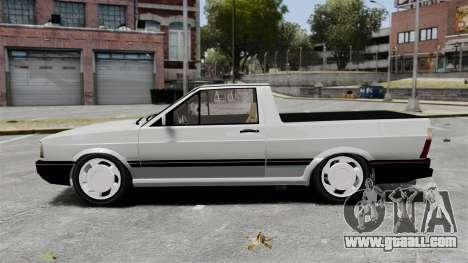 Volkswagen Saveiro 1990 Turbo for GTA 4 left view