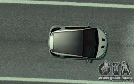 Aston Martin Cygnet 2011 for GTA 4 back view