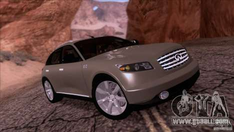 Infiniti FX45 2007 for GTA San Andreas
