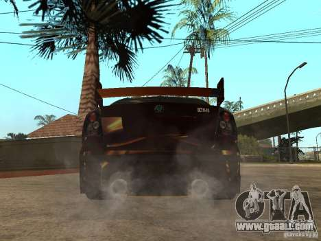 Skoda Octavia II Tuning for GTA San Andreas back left view