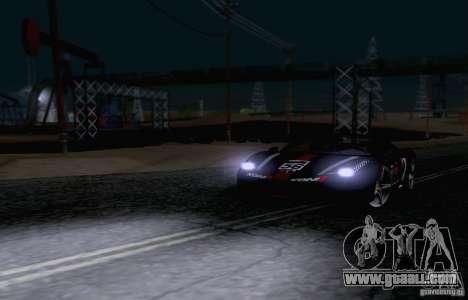 Ferrari F458 for GTA San Andreas side view