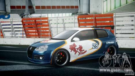 Volkswagen Golf V GTI Blacklist 15 Sonny v1.0 for GTA 4 right view