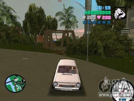 ZAZ 968 for GTA Vice City right view