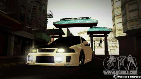 Mitsubishi Lancer Evolution 6 for GTA San Andreas