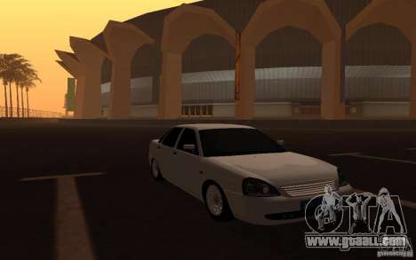 Lada Priora Light Tuning for GTA San Andreas right view