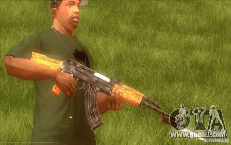 Kalashnikov HD for GTA San Andreas