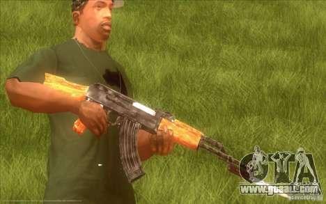 Kalashnikov HD for GTA San Andreas
