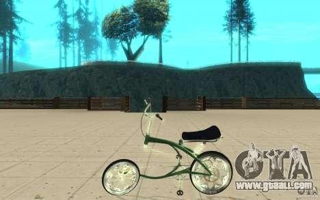 Custom Bike for GTA San Andreas left view