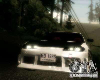 Nissan Silvia for GTA San Andreas upper view