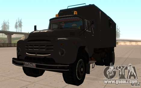 ZIL 130 Radio Butka for GTA San Andreas
