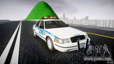 Ford Crown Victoria Police Department 2008 LCPD for GTA 4 right view