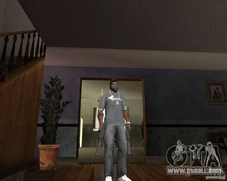 Ingram MAC-10 of counter-strike for GTA San Andreas second screenshot