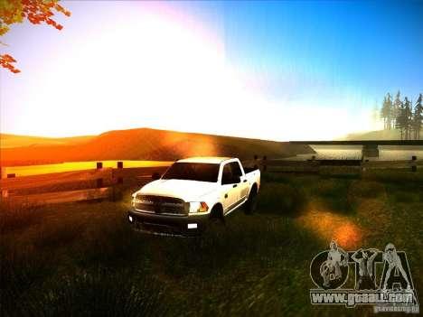 Dodge Ram Heavy Duty 2500 for GTA San Andreas side view