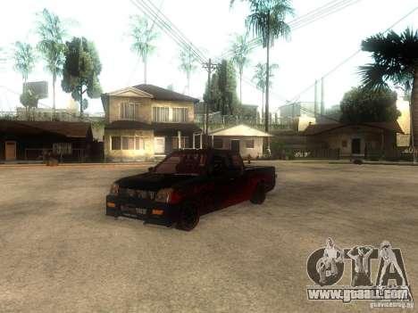 Isuzu D-Max for GTA San Andreas