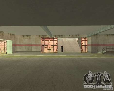 Pneumatic gate in area 69 for GTA San Andreas forth screenshot