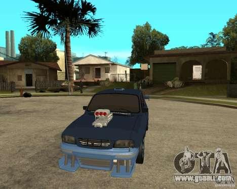 Dacia 1310 tuning for GTA San Andreas back view