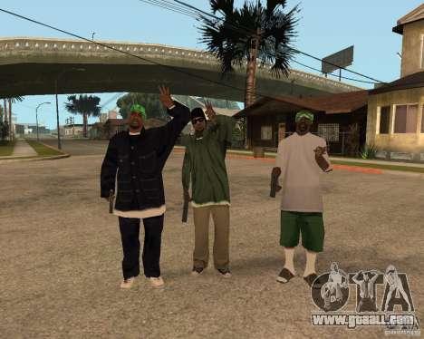 Ballasy's Grove for GTA San Andreas second screenshot
