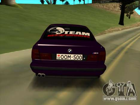 BMW M5 E34 NeedForDrive for GTA San Andreas