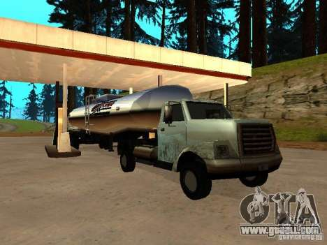 Yankee Truck for GTA San Andreas back view